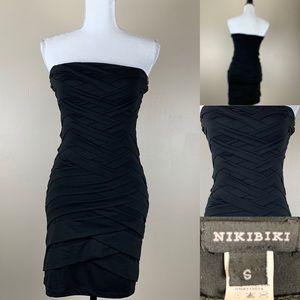 Nikibiki Dress Bandage Strapless Party Dress